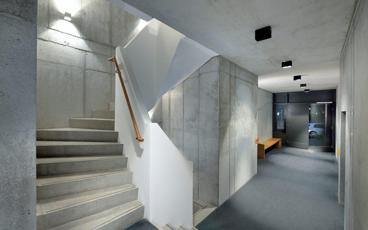 Brunnen49 Eingangsbereich
