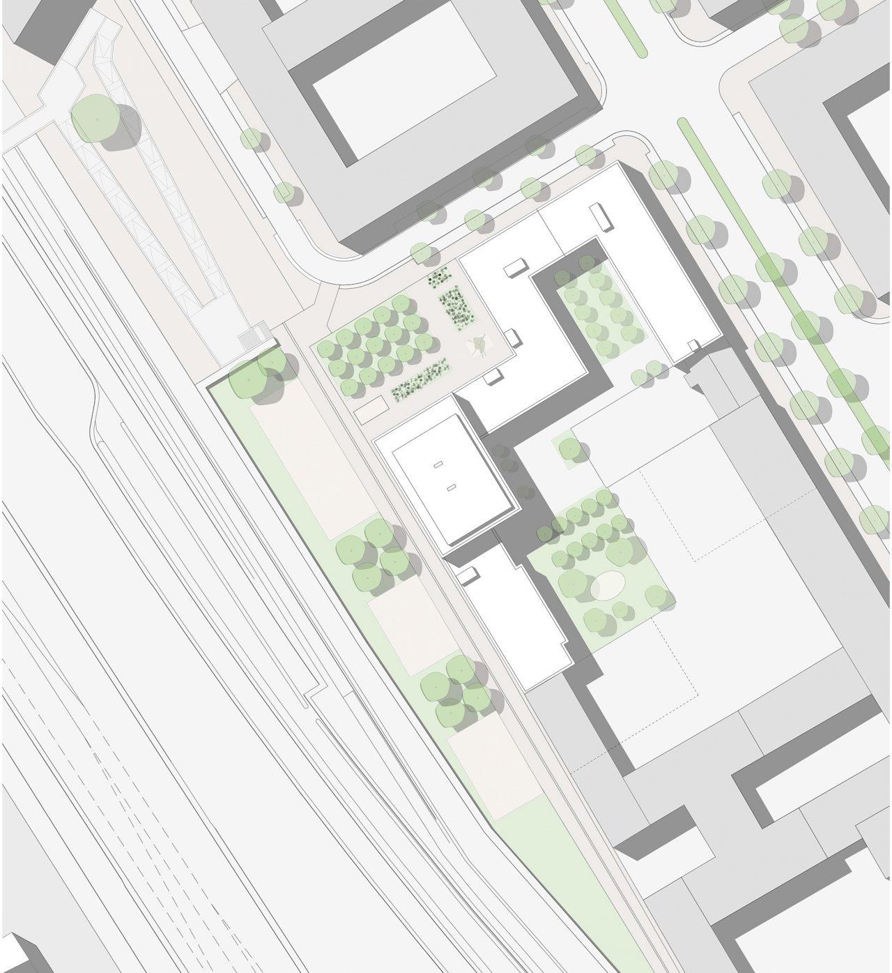 Quatier Heidestrasse Lageplan