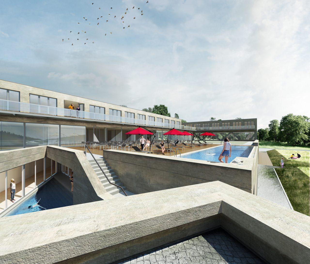 Hotelam See Pool