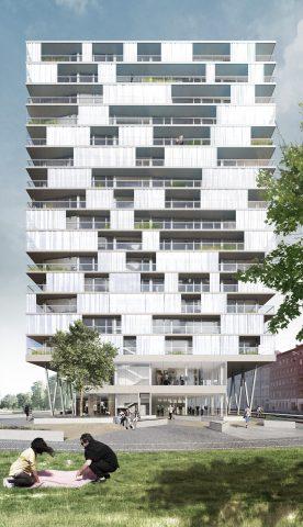 Eberswalder Bebauungsvorschlag, Berlin 2016-2018